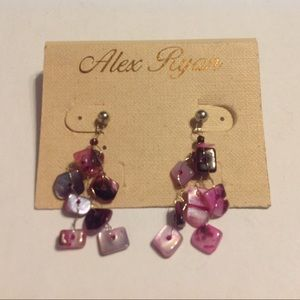 Alex Ryan Silver Tone Earrings
